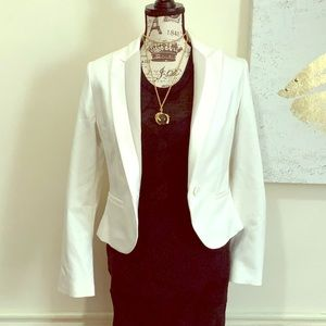 Express white blazer size 6